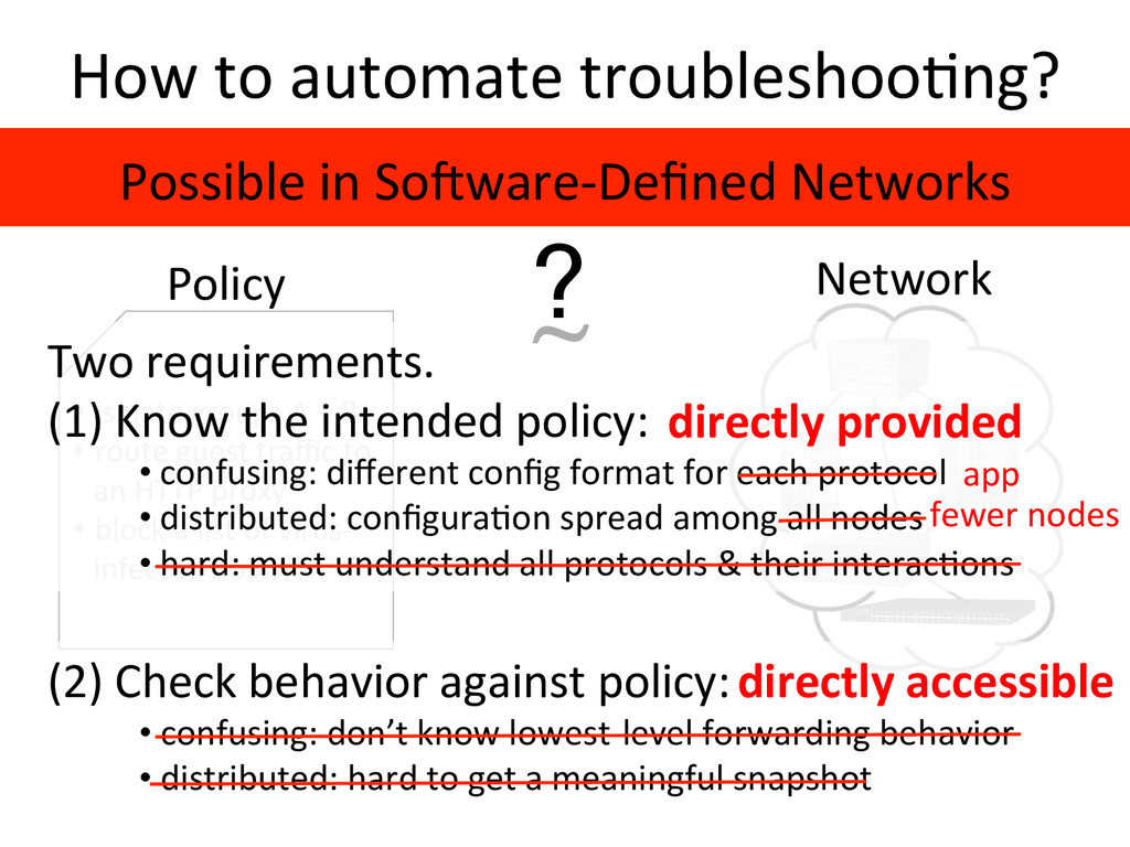 How to automate troubleshoo2ng?  Ne...