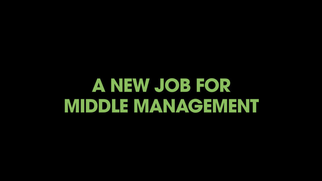 A NEW JOB FOR 