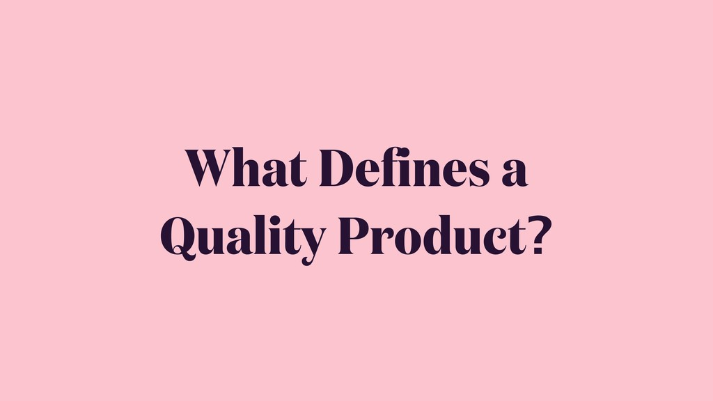 What Defines a 