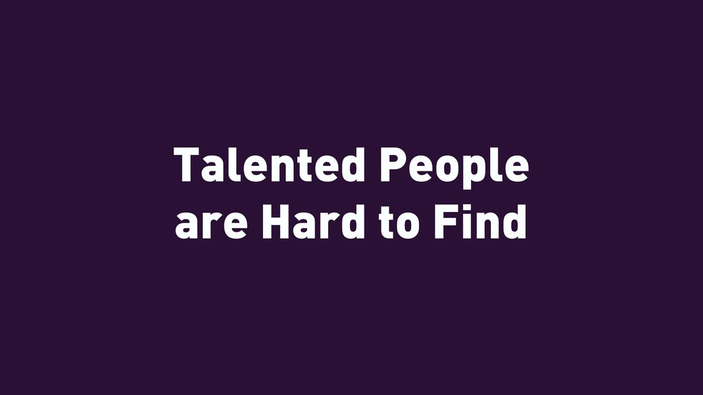 Talented People 