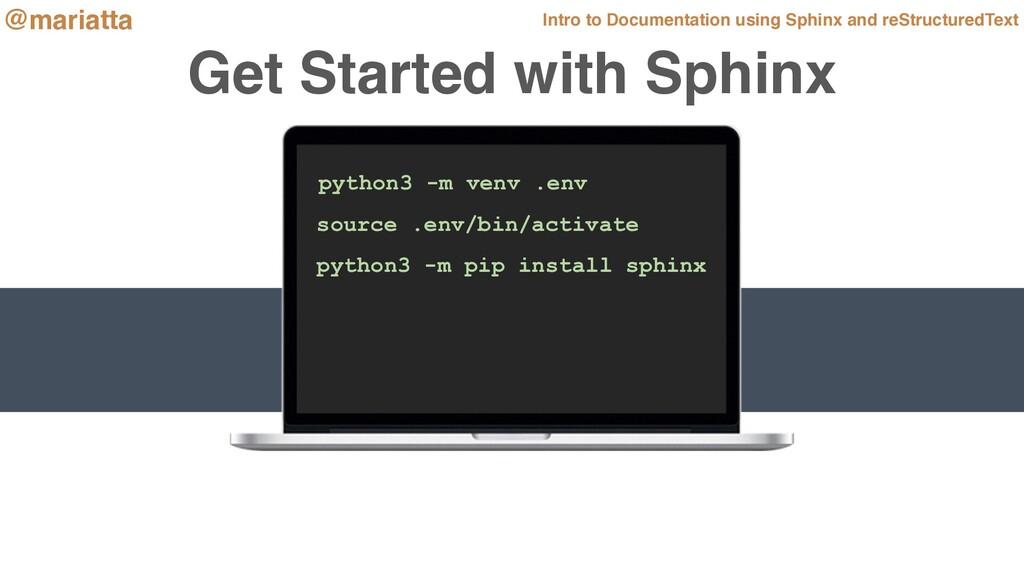 python3 -m venv .env source .env/bin/activate p...