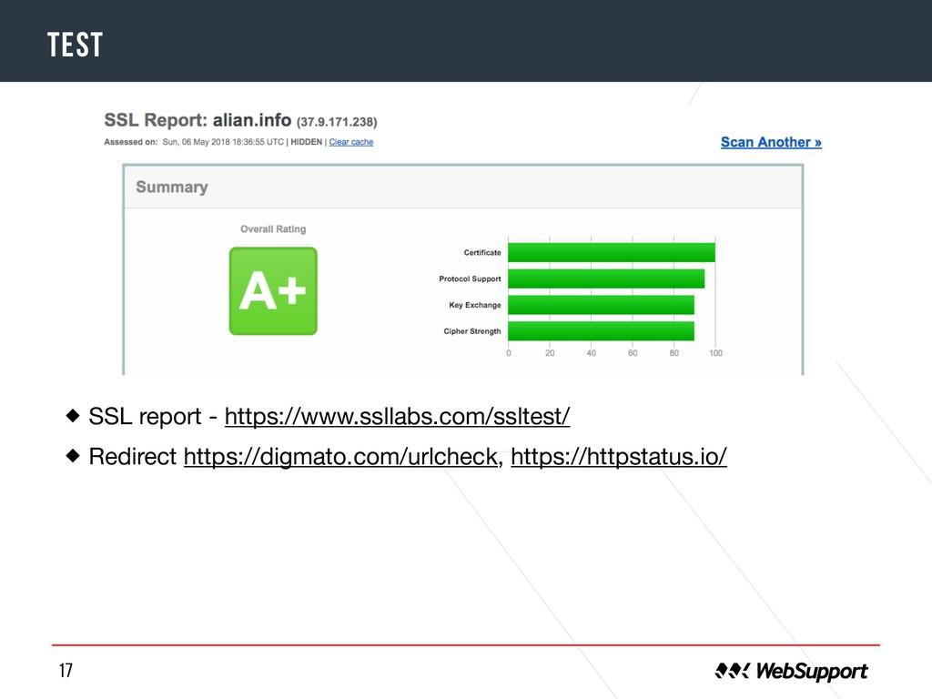 17 TEST SSL report - https://www.ssllabs.com/ss...