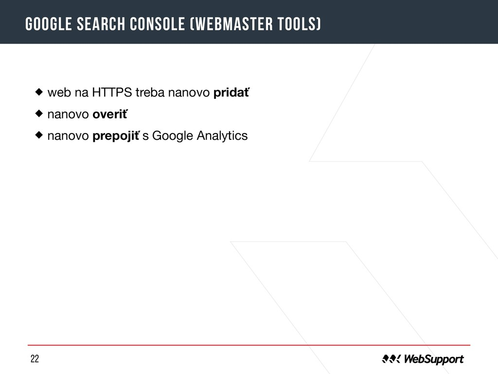 22 Google Search Console (Webmaster tools) web ...