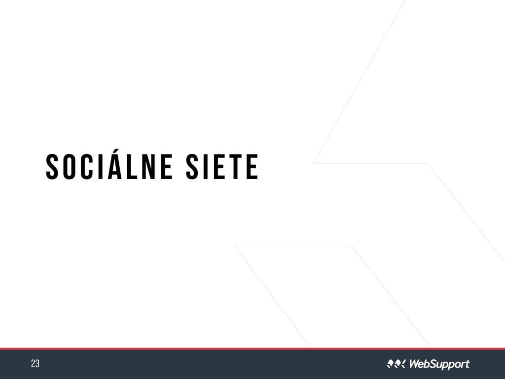 Sociálne siete 23