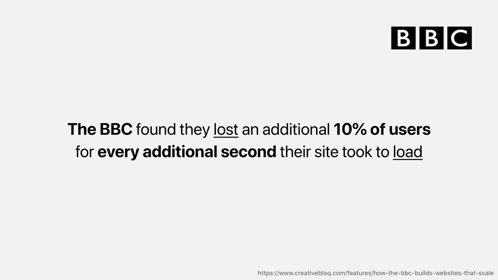 The BBC found they lost an additional 10% of us...