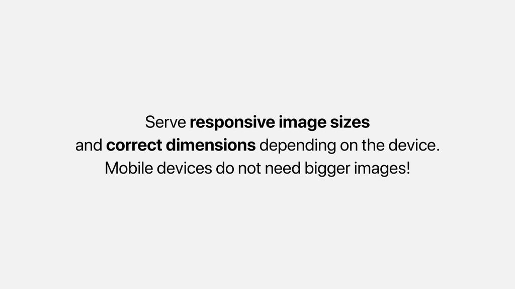 Serve responsive image sizes and correct dimens...