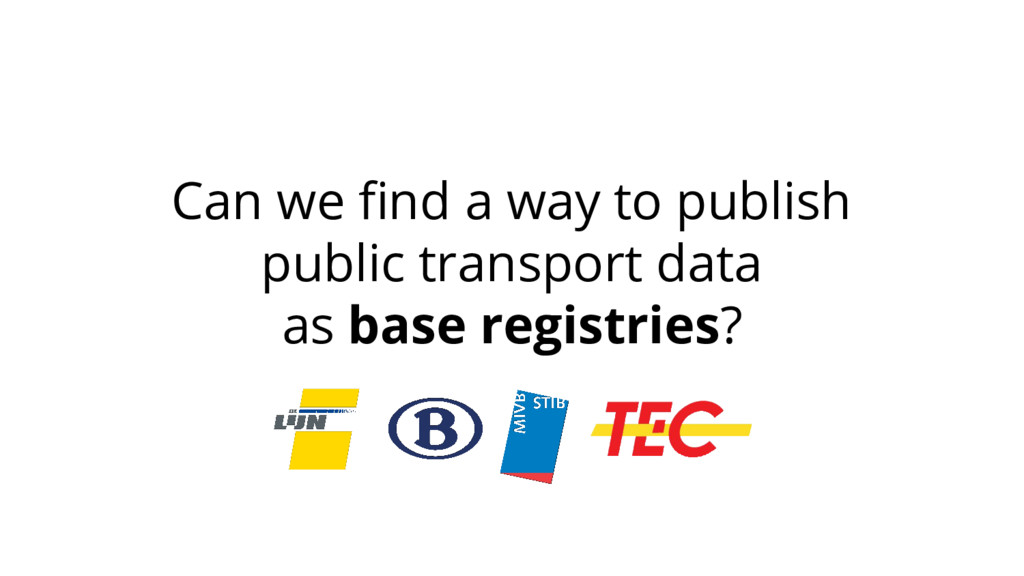 Can we find a way to publish public transport d...