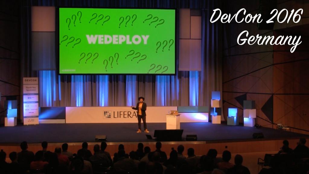 DevCon 2016 Germany