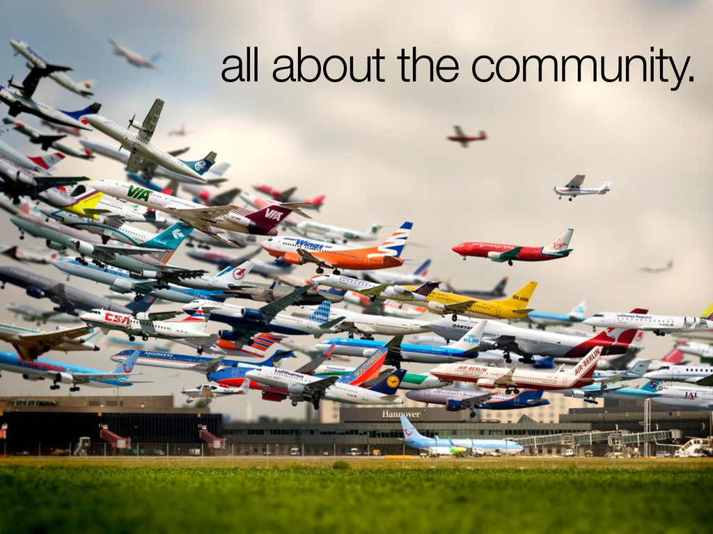 all about the community.