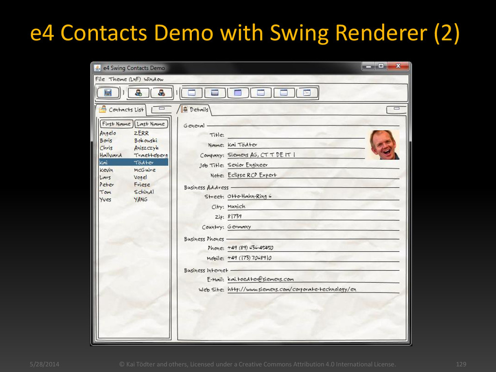 e4 Contacts Demo with Swing Renderer (2) 5/28/2...