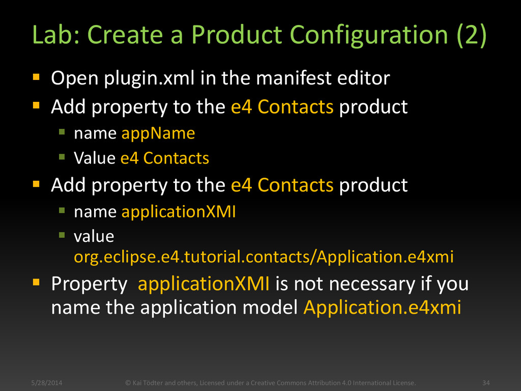 Lab: Create a Product Configuration (2)  Open ...