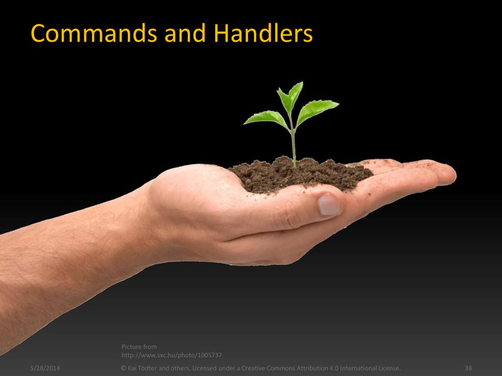 Commands and Handlers 5/28/2014 © Kai Tödter an...