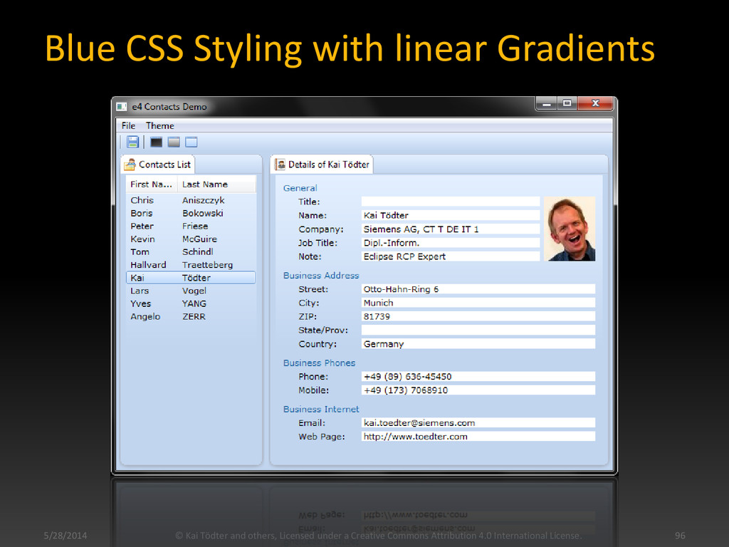 Blue CSS Styling with linear Gradients 5/28/201...