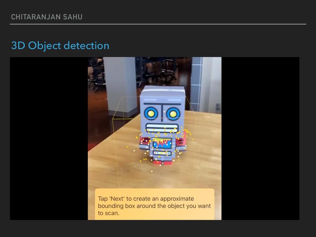 CHITARANJAN SAHU 3D Object detection