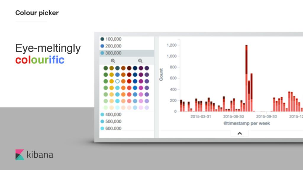 kibana Eye-meltingly colourific Colour picker