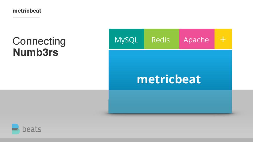 MySQL metricbeat Redis Apache + Connecting Numb...
