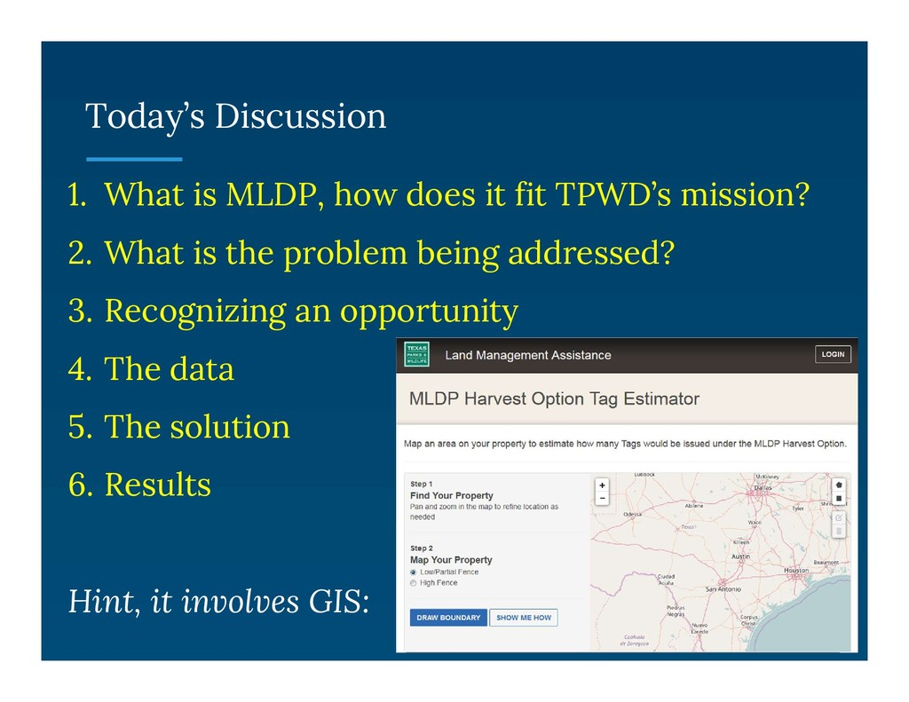 Today's Discussion 1. What is MLDP, how does it...
