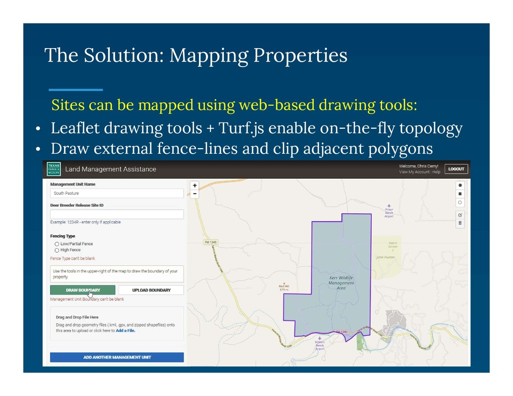 The Solution: Mapping Properties Sites can be m...