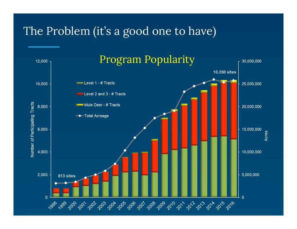 The Problem (it's a good one to have) Program P...