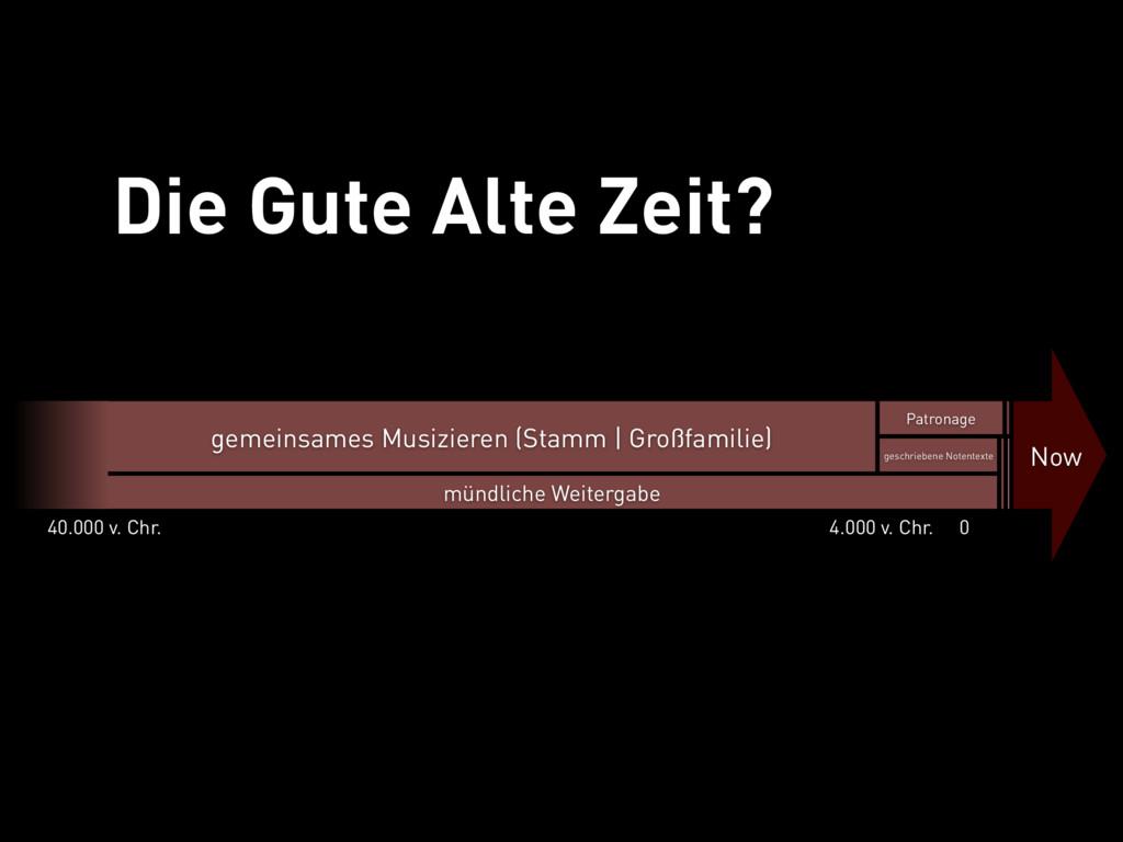 Die Gute Alte Zeit gemeinsames Musizieren (Stam...
