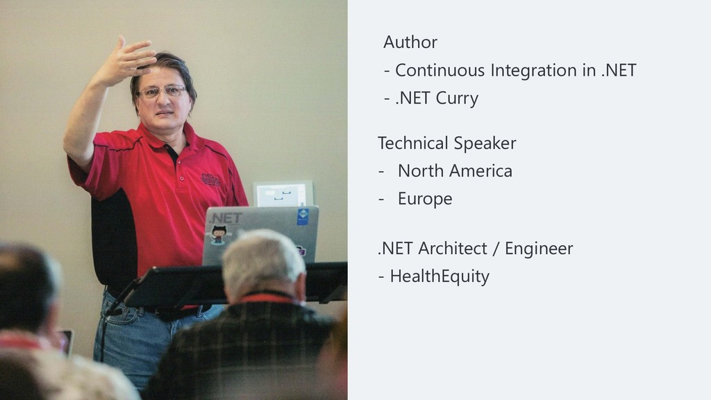 Author - Continuous Integration in .NET - .NET ...