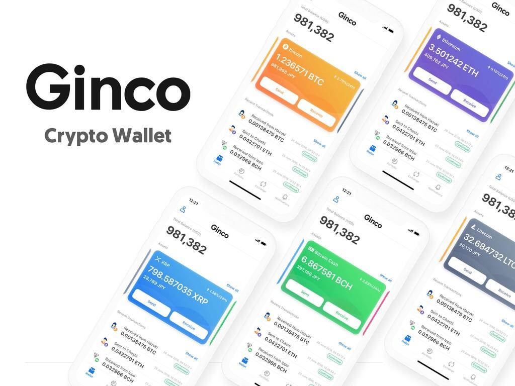 ©2019 Ginco, Inc. Crypto Wallet