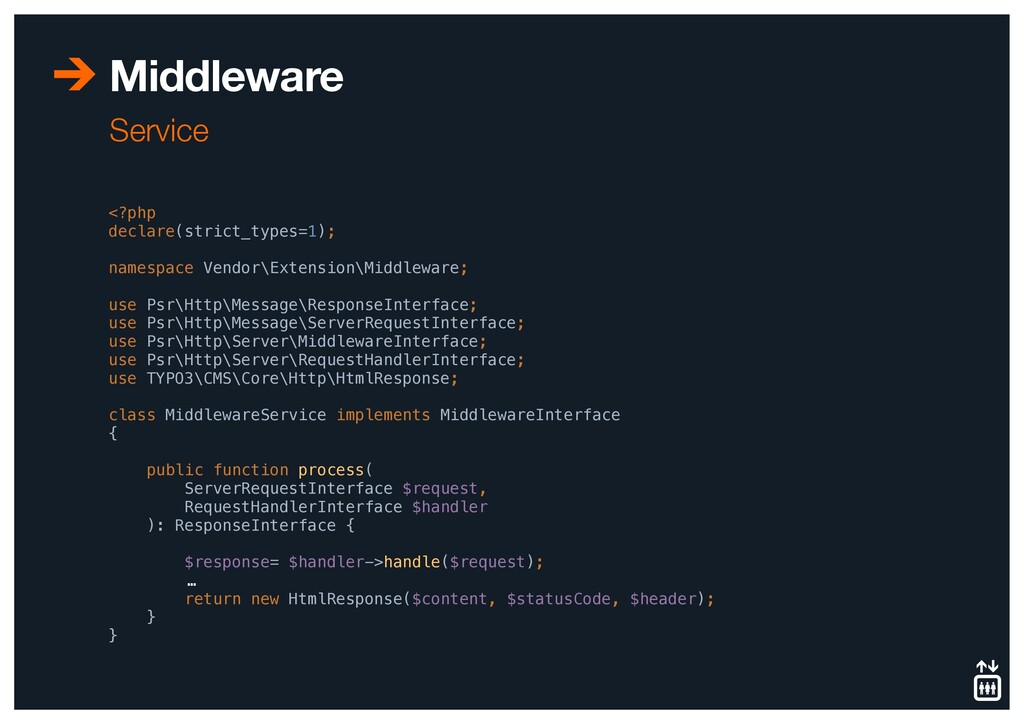 Middleware Service <?php declare(strict_types=1...