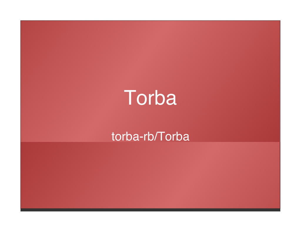 Torba torba-rb/Torba