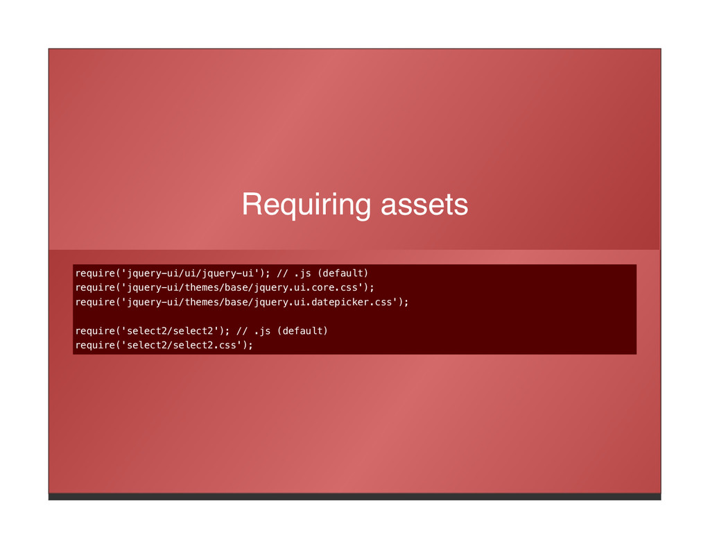 Requiring assets require('jquery-ui/ui/jquery-u...