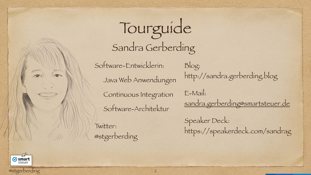 @stgerberding T ourguide Software-Entwicklerin:...