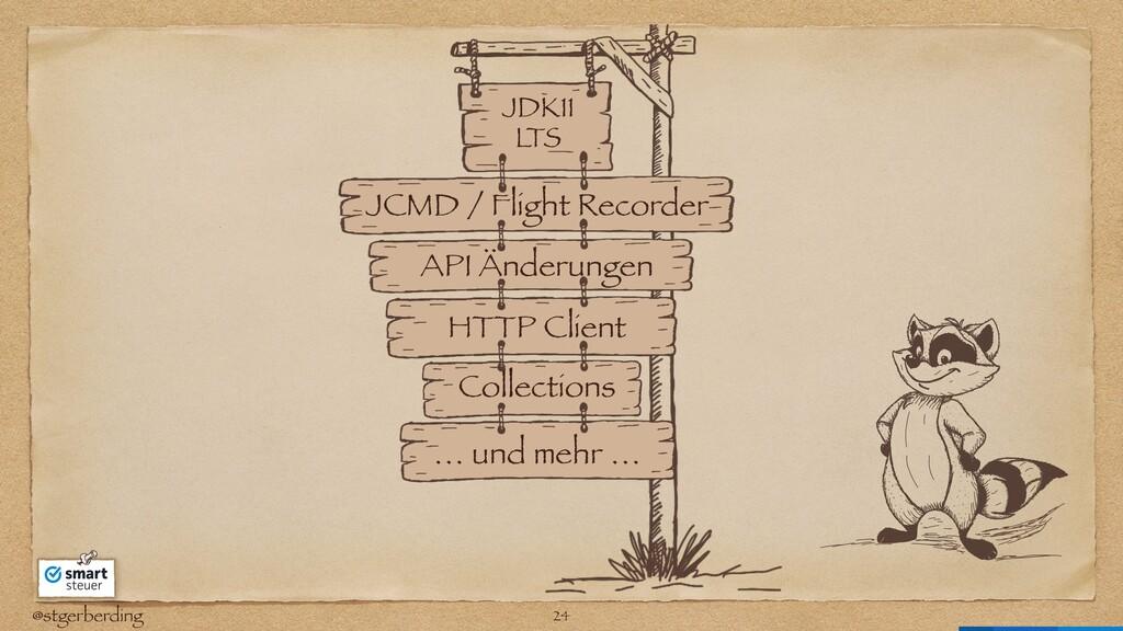 @stgerberding JDK11 L TS API Änderungen JCMD / ...