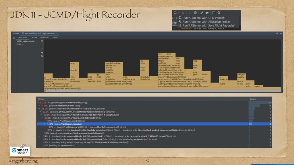 @stgerberding JDK 11 - JCMD/Flight Recorder 26