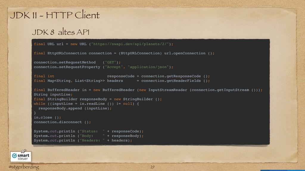 @stgerberding JDK 11 - HTTP Client final URL ur...