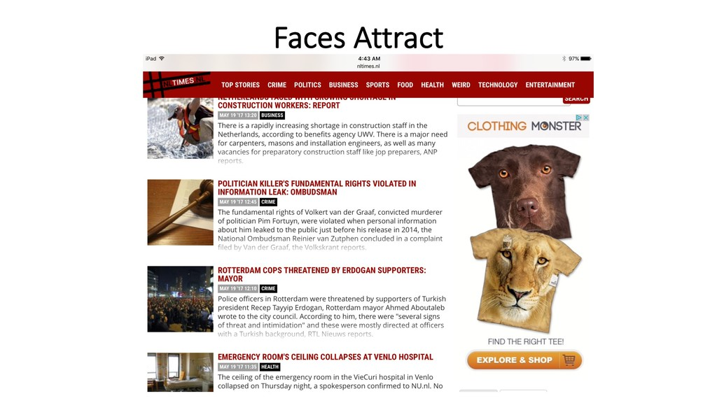 Faces Attract