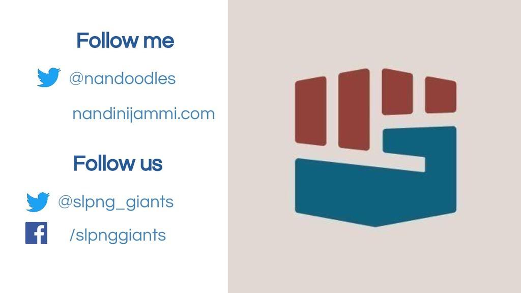 @slpng_giants Follow us @nandoodles Follow me /...