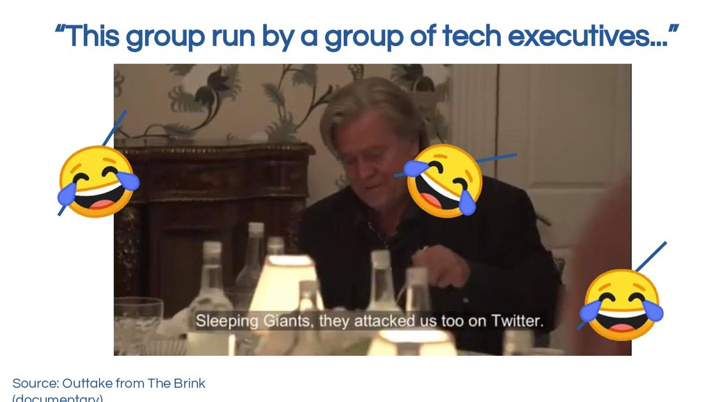 """""""This group run by a group of tech executives....."""