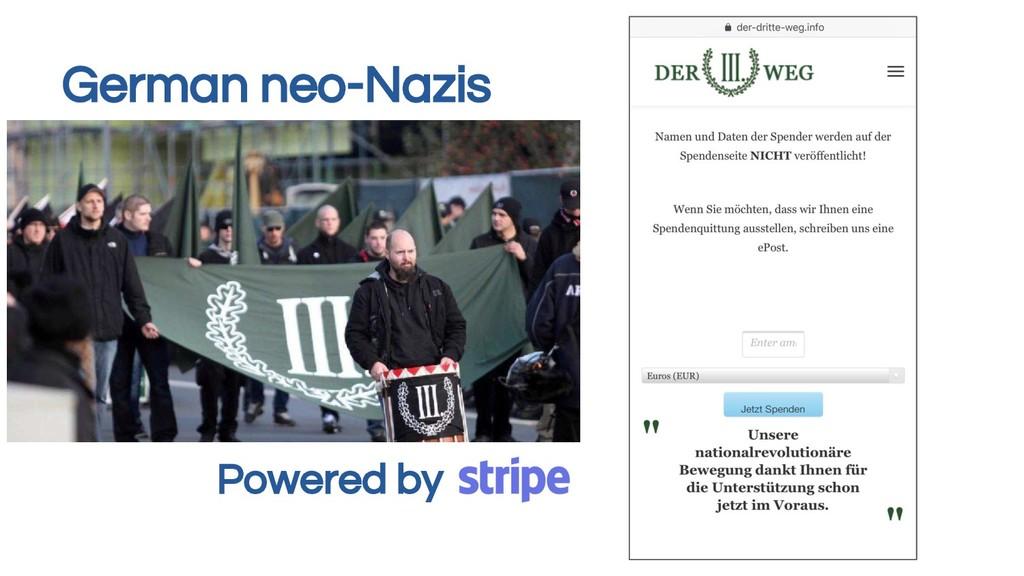Powered by German neo-Nazis