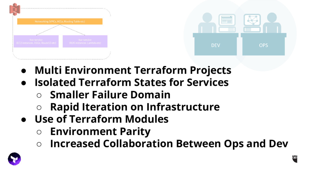 ● Multi Environment Terraform Projects ● Isolat...
