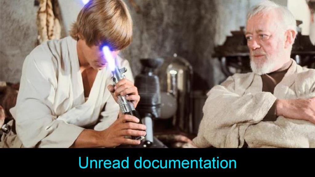 Unread documentation