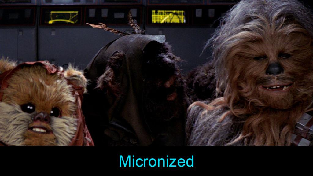 Micronized