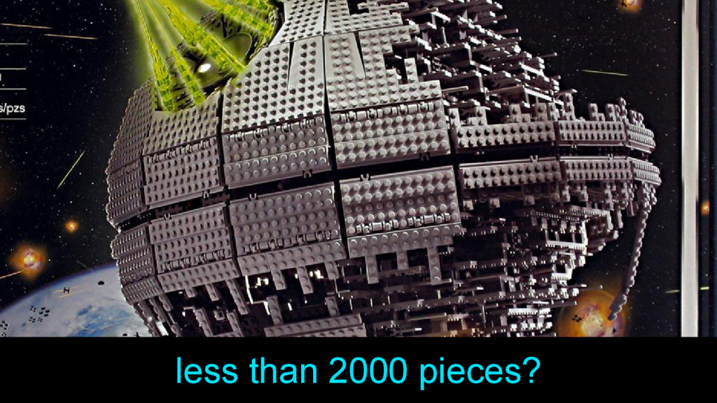 less than 2000 pieces?