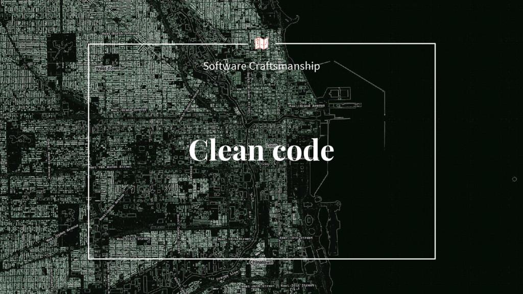 Clean code Software Craftsmanship