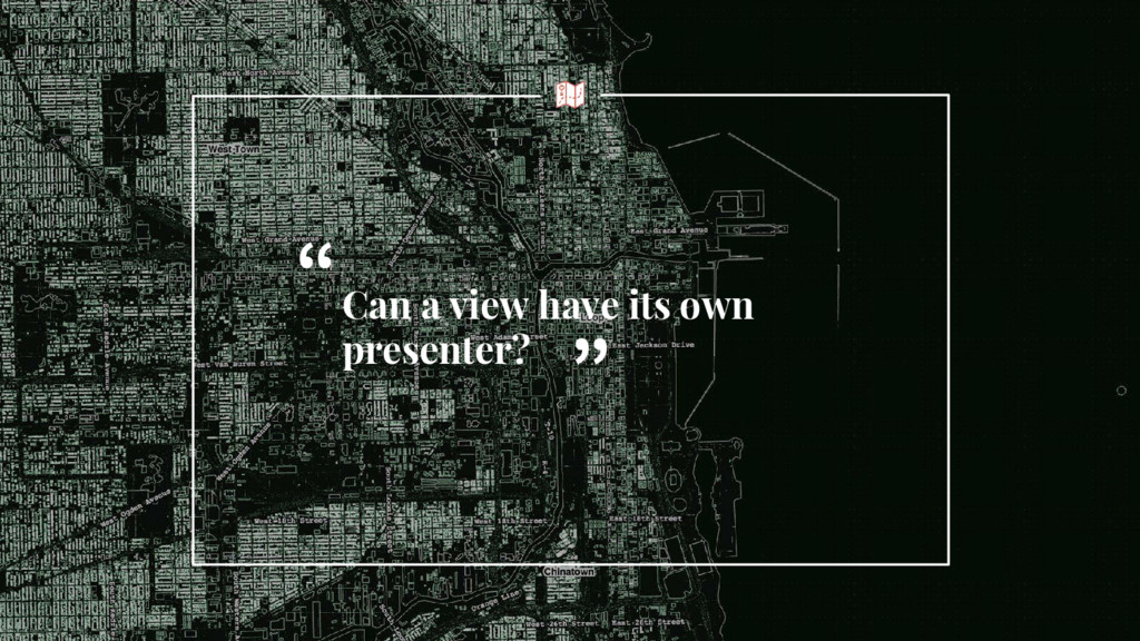 """Can a view have its own presenter? """" """""""