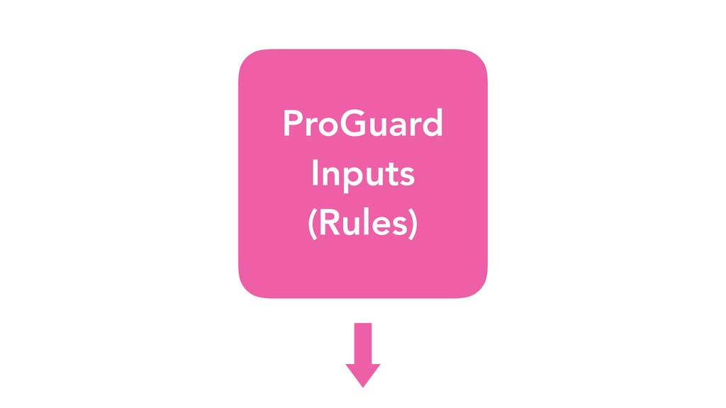 ProGuard Inputs (Rules)