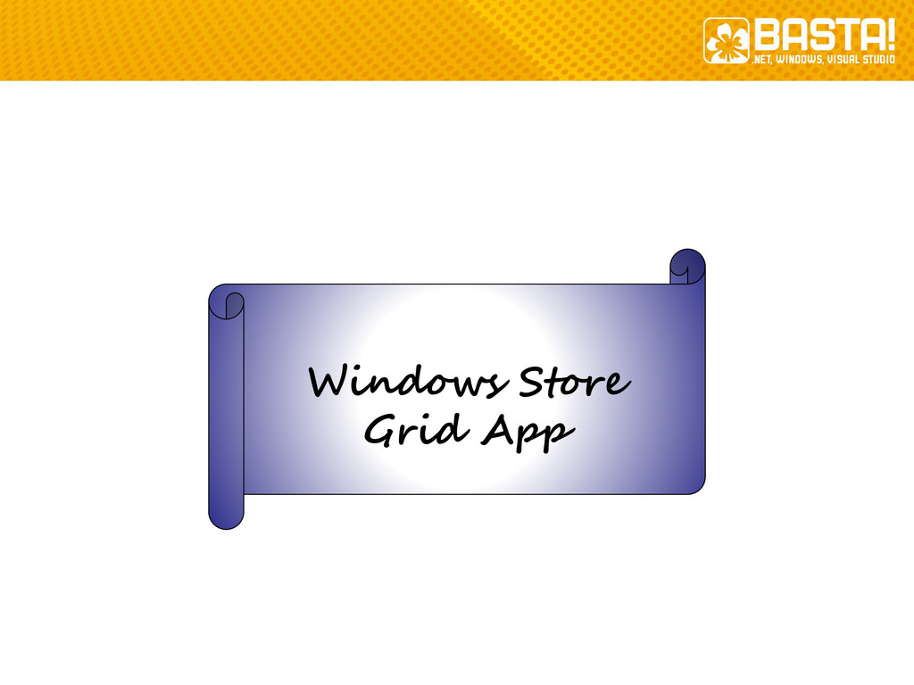 Windows Store Grid App