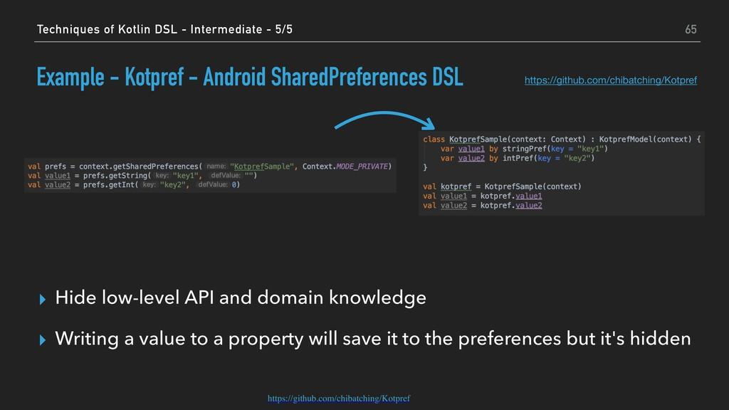 Example - Kotpref - Android SharedPreferences D...