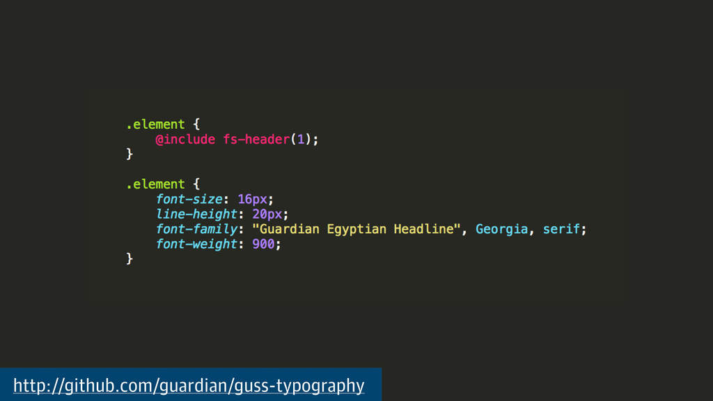 http://github.com/guardian/guss-typography