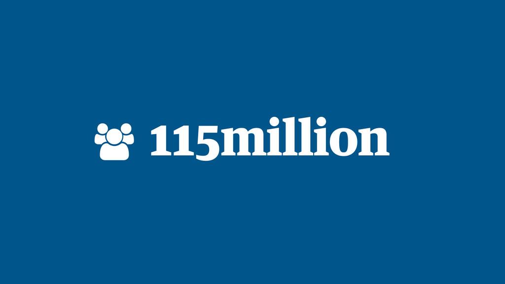 115million !