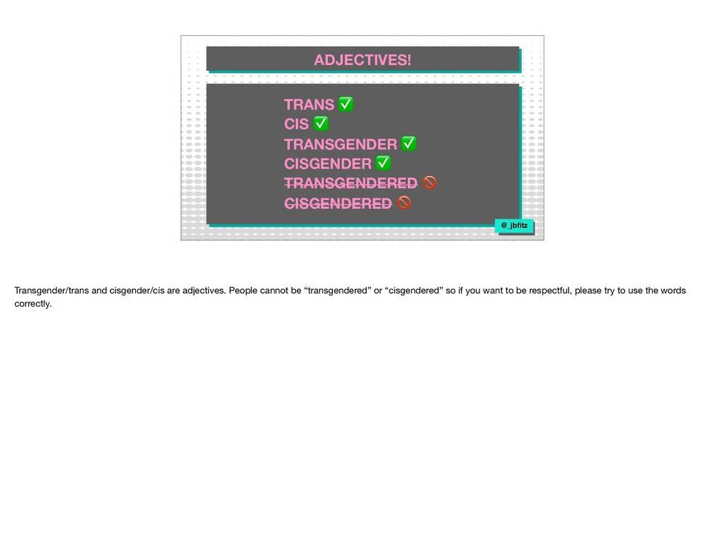 TRANS ✅ CIS ✅ TRANSGENDER ✅ CISGENDER ✅ TRANSGE...