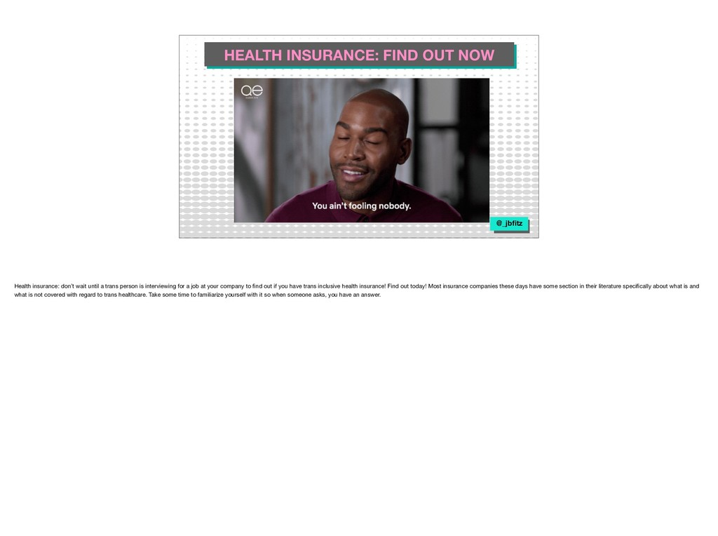 HEALTH INSURANCE: FIND OUT NOW @_jbfitz Health i...